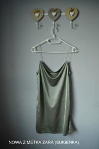 Nowa lejąca sukienka Zara metka S...