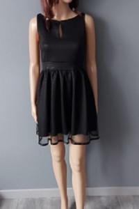 Sukienka Czarna Prosta 34 Roco...