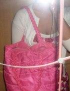 """różowa torebka """"WOREK"""""""