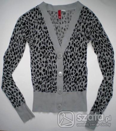 Sweter H&M w kotki, rozm S