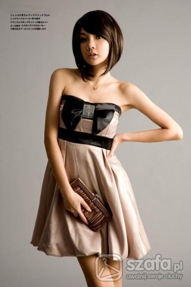 Japan style piękna sukienka