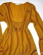 Miodowy sweterek S/M