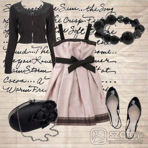 Na specjalne okazje Na romantycznie sukienka w kolorze pudrowego różu