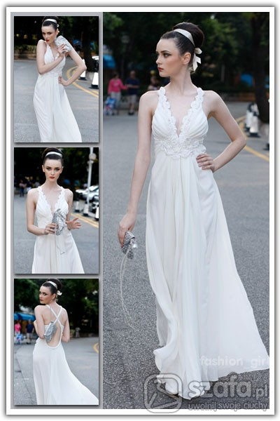 Subtelna suknia ślubna rozmiar od S do XL