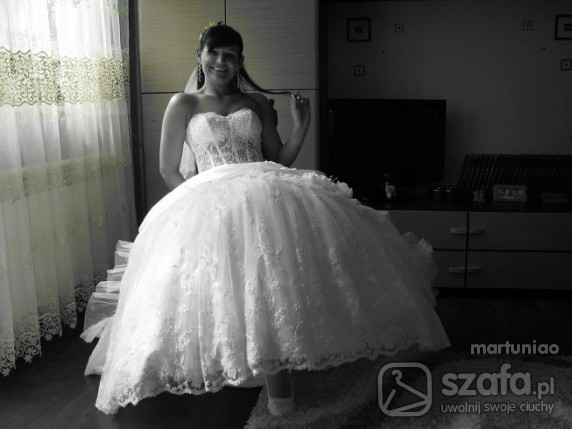 Na specjalne okazje moja suknia slubna
