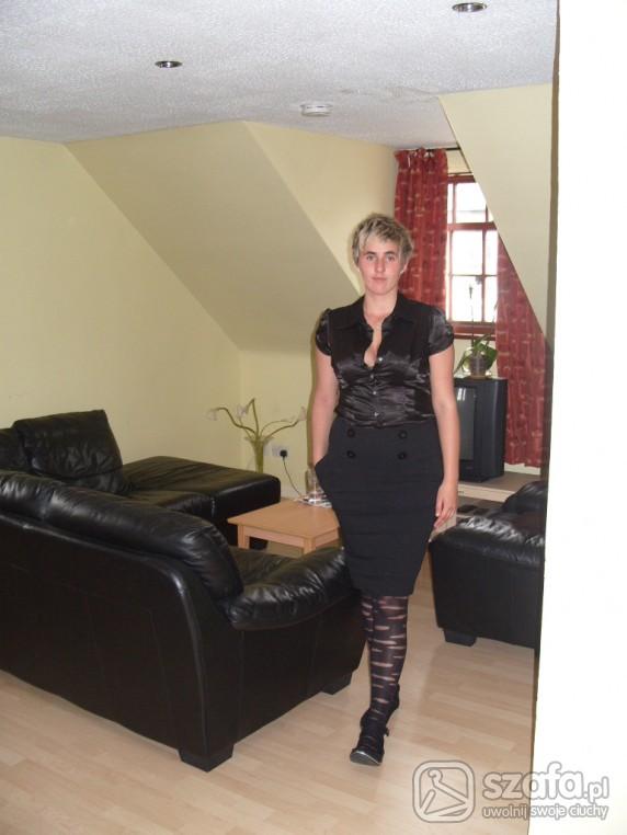 Eleganckie czarna mamba