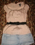 koszula łososiowa H and M