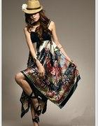 Sukienka satynowa