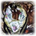 Śliczna apaszka chusta RETRO