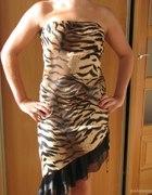 Panterkowa sukienka