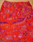 Spódnica folkowa czerwona...