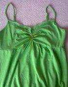 zielona bombka na ramiączkach