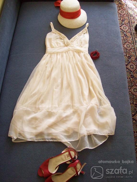 Romantyczne Sukienka z firanki