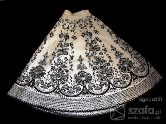Spódnice orientalne kwiatki