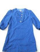 szafirowa sukienko tunika