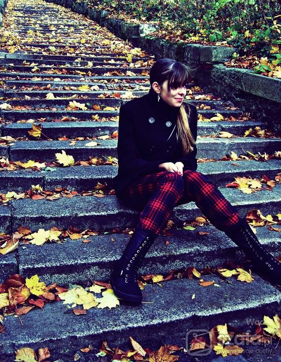 Mój styl Jesienna kratka