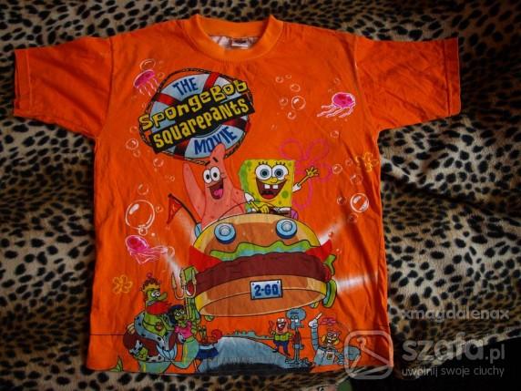 Koszulki, podkoszulki PRZEŚLICZNA SPONGEBOB