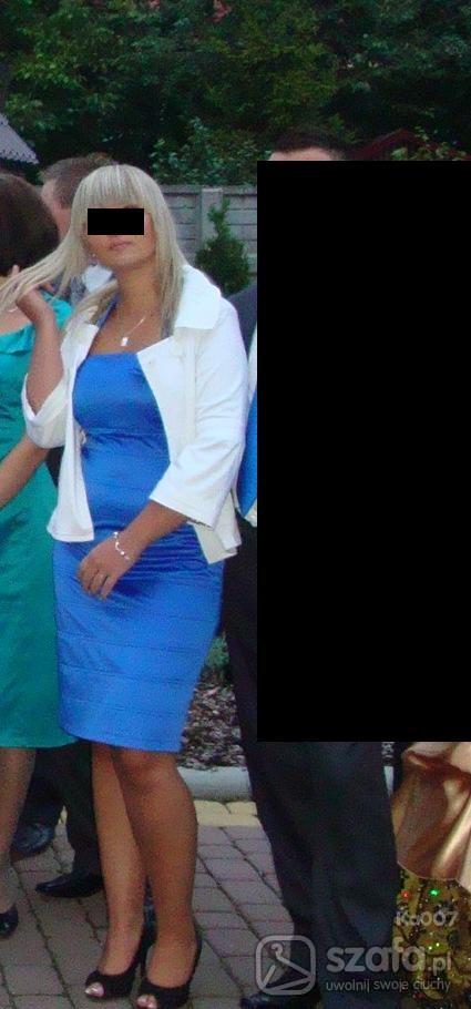 Eleganckie niebieska elegancja