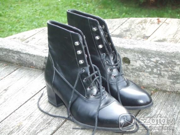 735b7f3ee0f90 Vintage botki w Botki - Szafa.pl