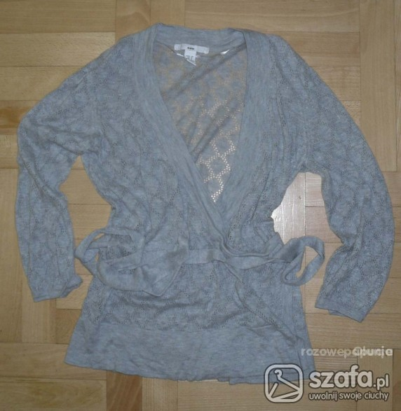 Ażurkowy sweterek H M