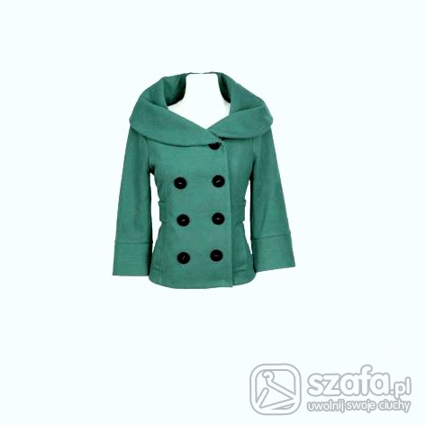 Mój styl Zielona kurteczka