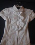 Bluzka z żabotem Zara