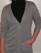 Bik Bok sweter szary długi kardigan