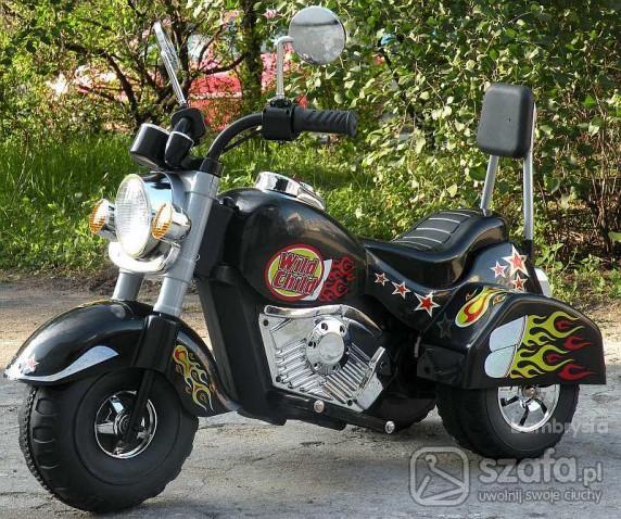 Zabawki Harley Davidson w wersji mini