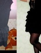 falbanki sukienka hm