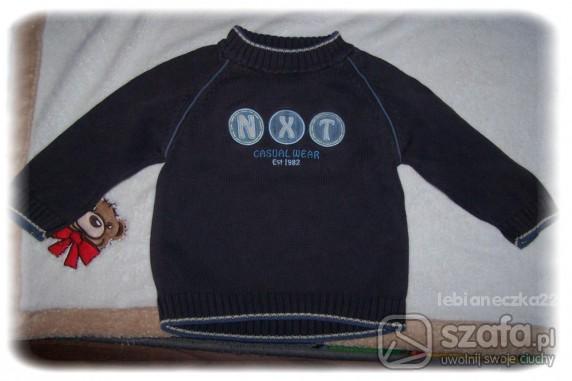Komplety 2 sztuki ciepłe sweterki NEXT 86 92