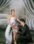 Ślubne uniesienie