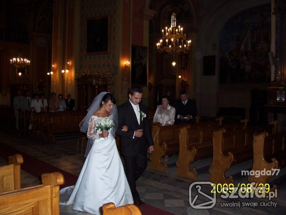 Na specjalne okazje Suknia ślubna hiszpańska