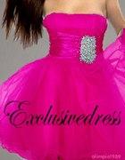 Śliczna różowa sukieneczka