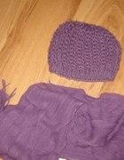 czapka duża plus szaliczek bardzo ładna i modna