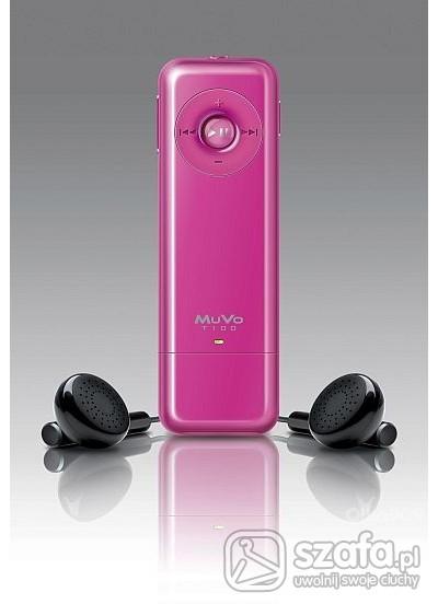 Pozostałe mp3 Creative MuVo T100 różowa