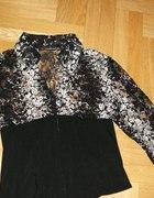 Blizka koszulowa elegancka z gorsecikiem