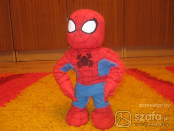 Zabawki INTERAKTYWNY SWIETNY SPIDER MAN UCZY SPIEWA GRA