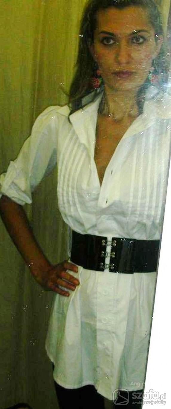 Eleganckie prostota czern z biela