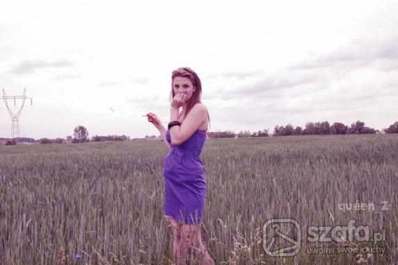 Mój styl fioletowo mi