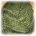 klasyczna zielono czarna arafatka
