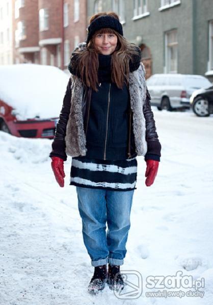 Vintage zimowo