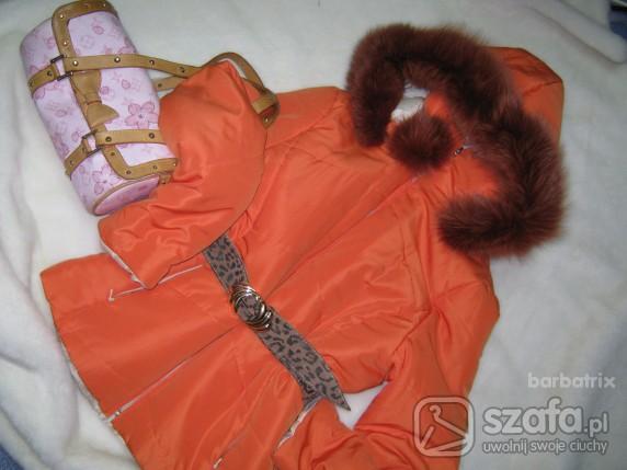 Odzież wierzchnia Pomaranczowy lisek