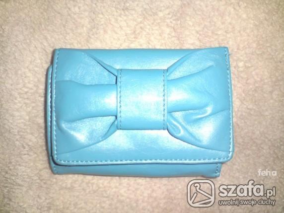 portfel House niebieski cena z wysyłka