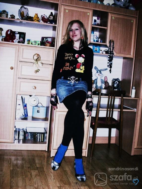Mój styl Fajna bluzka dont worry be stupid