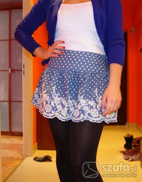 Mój styl blue and flowers