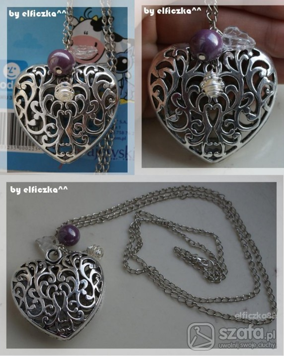 Handmade Serce na uwięzi