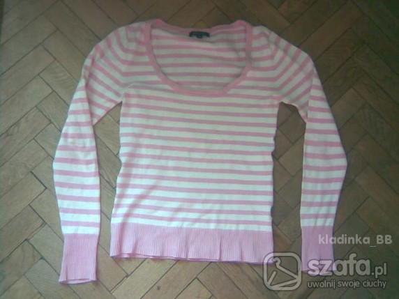 Swetry Sweterek AMISU w paski