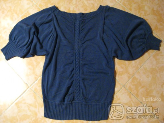 Swetry granatowy sweterek