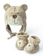 Zestaw czapka i rękawiczki dla niemowlaka