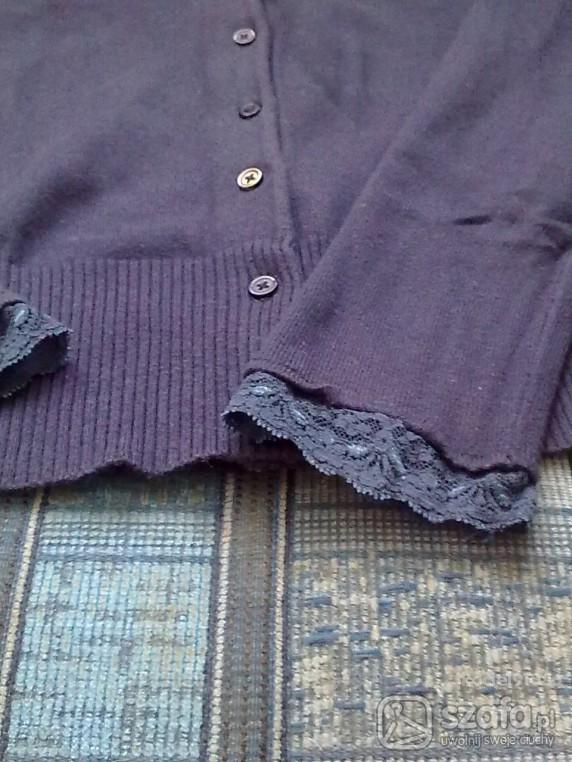 Swetry art 9 rozm S granatowy sweterek